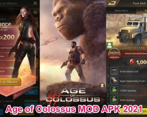 age of colossus mod apk 2021