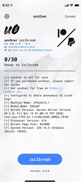 uncover 6.0.0 ipa
