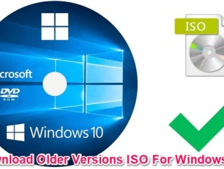 download older versions of windows 10