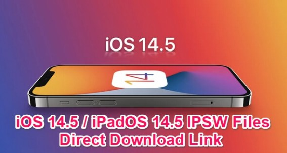 ios 14.5 ipsw download links