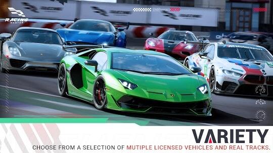 racing master apk screenshots