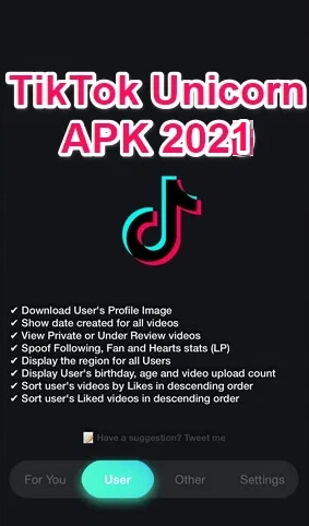 download tiktok unicorn apk 2021