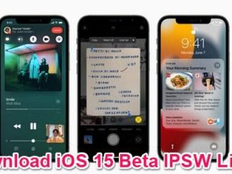 ios 15 beta ipsw links download