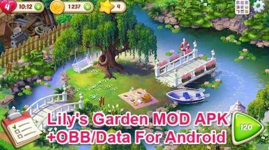 lily's garden mod apk