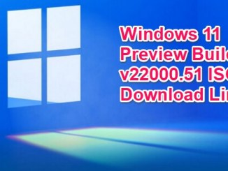 windows 11 preview build 22000.51 iso
