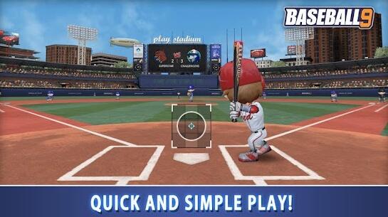 baseball 9 apk screenshots