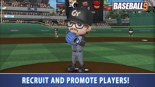 baseball 9 screenshot