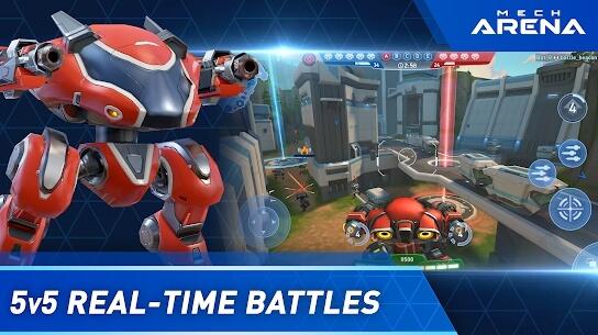 mech arena apk screenshot