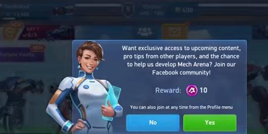 mech arena hack