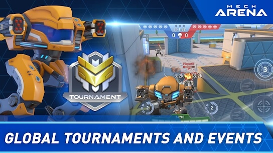 mech arena robot showdown apk screenshot