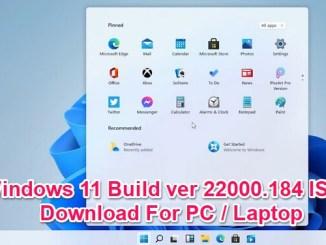 windows 11 build 22000.184 iso