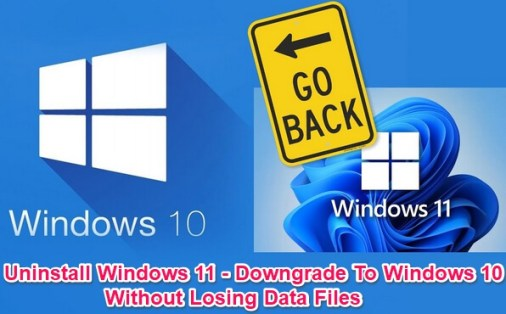 uninstall windows 11 and downgrade to windows 10 guide