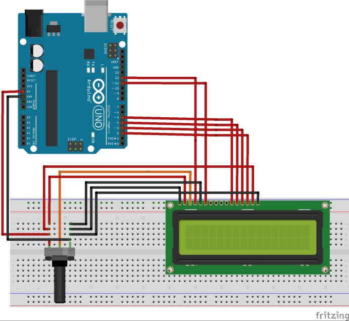 No  14 - LCD Display | Arduino Tutorials and Kits for Arduino