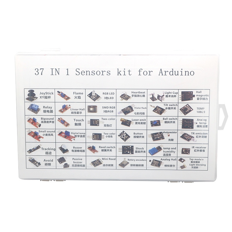 37 in 1 Arduino Sensor Kit