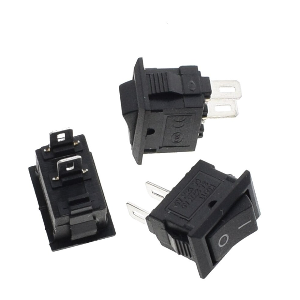 1 pc 10*15mm SPST 2PIN ON/OFF G130 Boat Rocker Switch KCD11 3A/250V Car Dash Dashboard Truck RV ATV Home