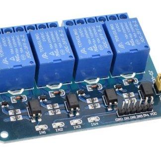 Módulo Relé De 4 Canales Para Arduino