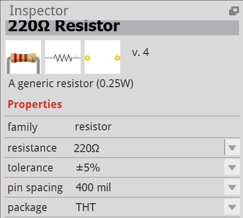 caractéristique résistance
