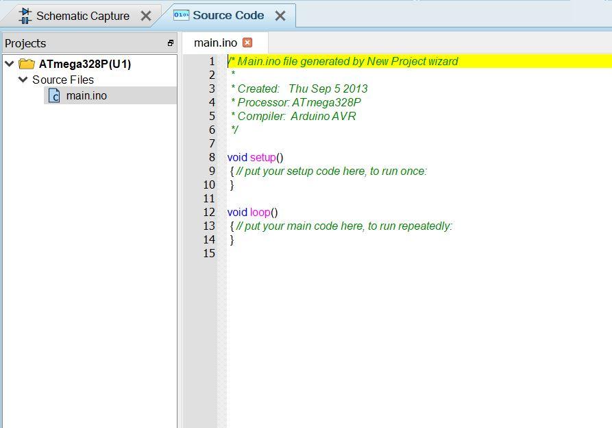 code source proteus
