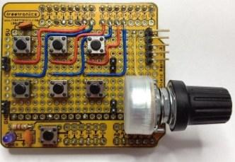 Parola Controller Shield without button labels