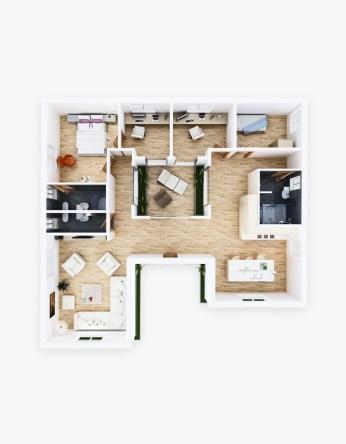 Plan Interieur 3D 2