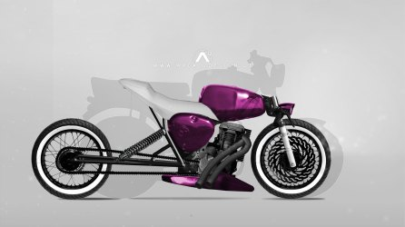 Simson S50 Fighter Concept