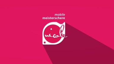 Mobile Meisterschere Logogestaltung