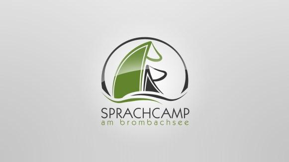 Sprachcamp Brombachsee logogestaltung