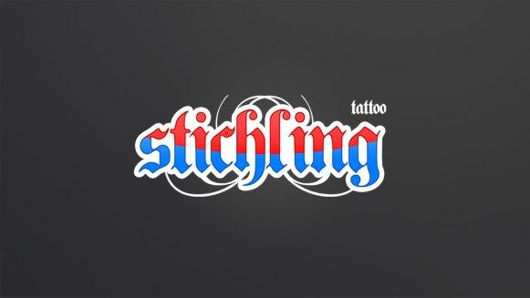 Stichling Tattoo Logogestaltung