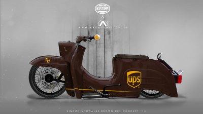 Simson Schwalbe UPS Concept