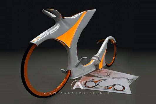 3D Future Bike Concept