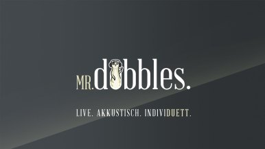 Mr. Dobbles Logogestaltung