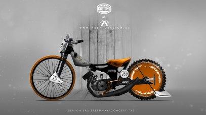 Simson SR2 Speedway Rat Concept