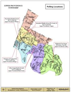 UPPER PROVIDENCE MAP
