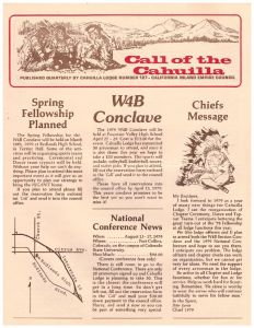 February 1979 Call of the Cahuilla