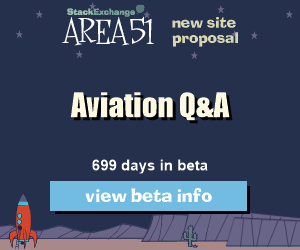 Stack Exchange Q&A site proposal: Aviation