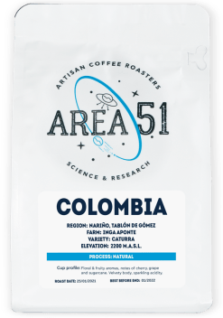 area 51 colombia single origin coffee