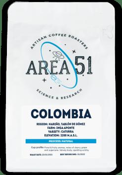 area 51 colombia single origin
