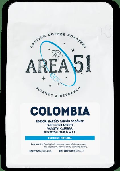 area 51 colombia single origin coffee