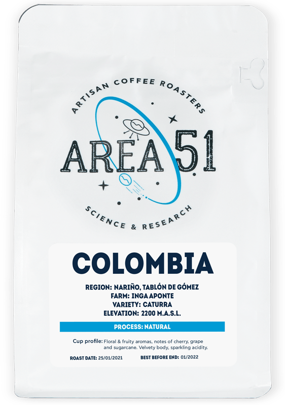 area 51 colombia single origin