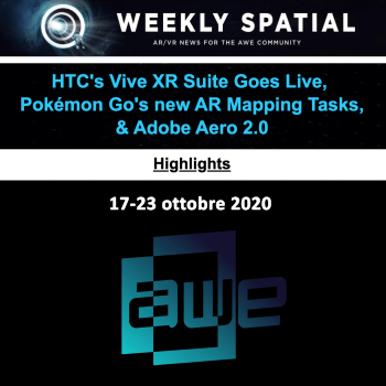 Weekly Spatial Highlights 17-23 ottobre 2020