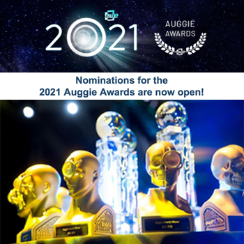 Nomination for the Auggie Awards 2021