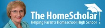 the home scholar logo