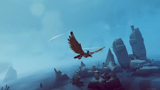 El RPG aéreo The Falconeer finalmente llegará a consolas