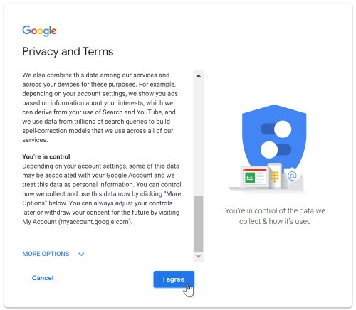 create privacy terms 1 areal news