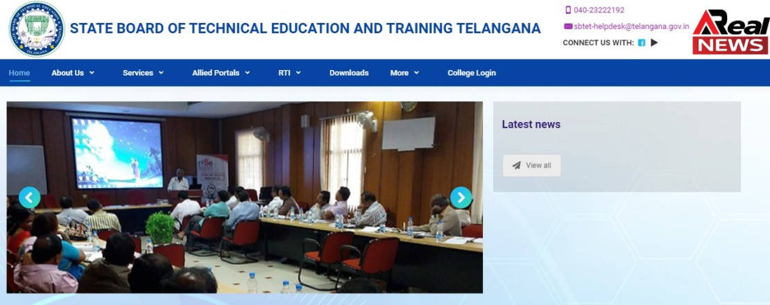 State Board Of Technical Education And Training, Telangana