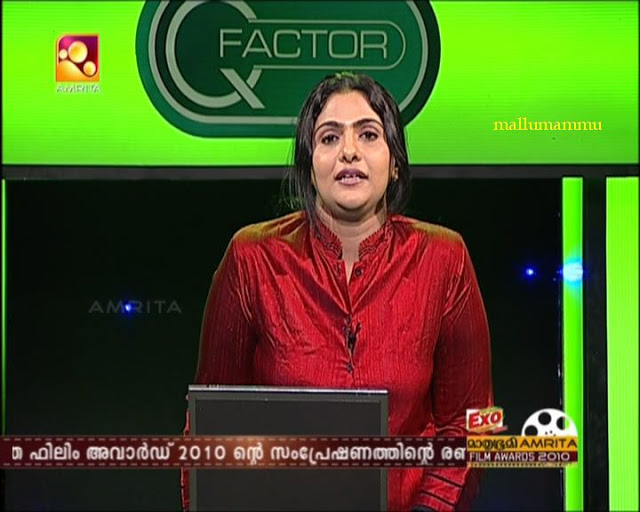 Rekha Menon Anchor biography