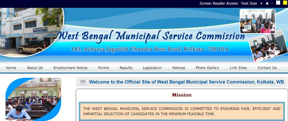 West Bengal Municipality Service Commission