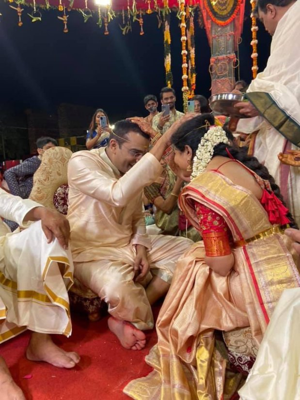 Ram Veerapaneni Wedding