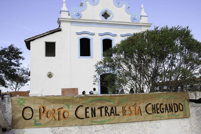 1 - Entidades e sociedade civil organizada dizem não ao Porto Central, em Presidente Kennedy (ES)_ Foto_ divulgação