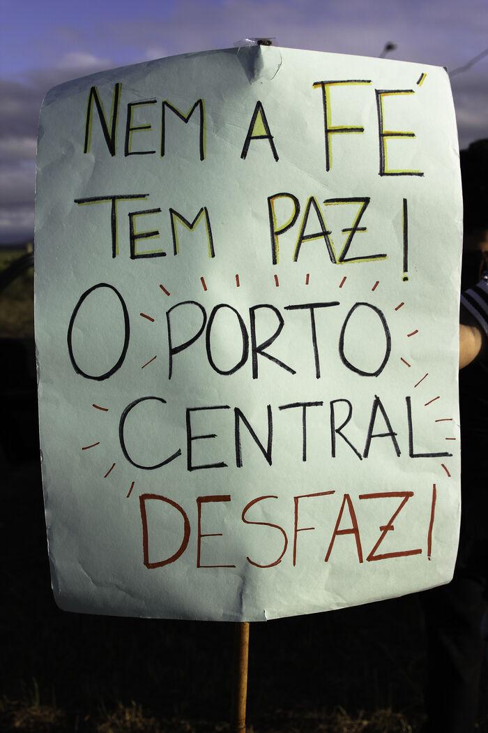 5 -O Porto Central ameaça ilhar o Santuário das Neves_ _ Foto_ divulgação